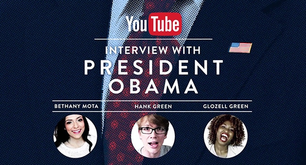 Interviul YouTube cu Președintele Obama